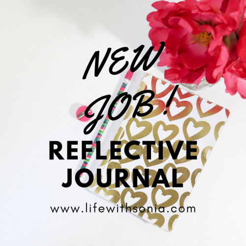 New Job Reflective Journal