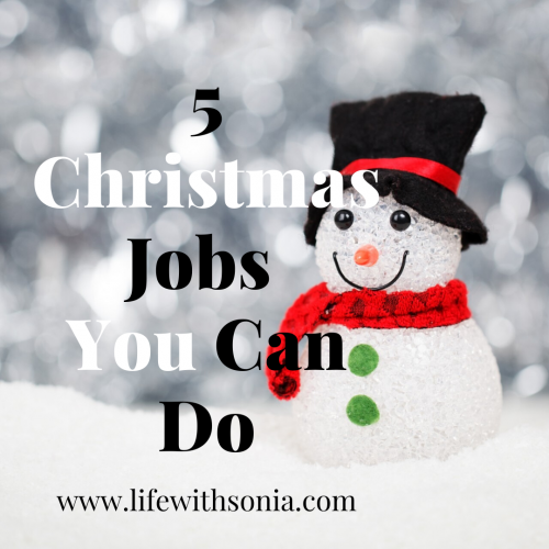 5 Christmas Jobs You Can Do